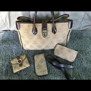 Dooney & Bourke large canvas tote